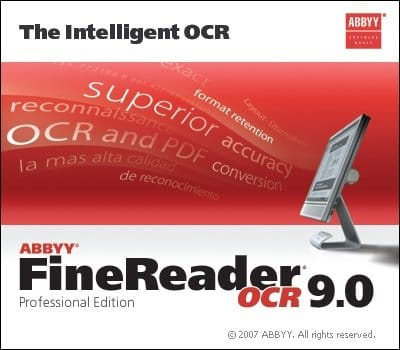 ABBYY FineReader 9 (русская версия)