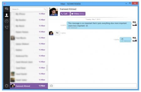 Viber для Windows 8 на русском