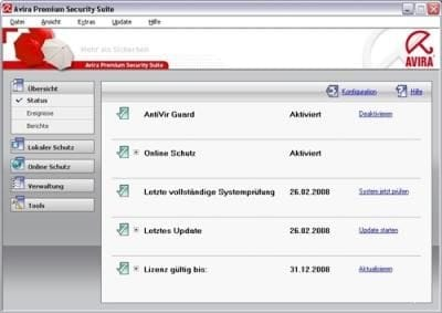 Avira Premium Security Suite + ключ