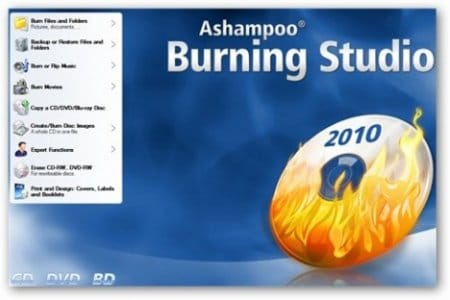 Ashampoo Burning Studio 10 + ключ